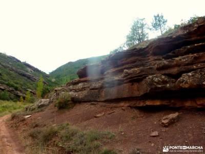 Valle de los Milagros-Cueva de la Hoz; rutas en cercedilla patones rutas viajes de navidad excursion